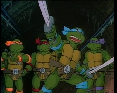 tartarughe ninja cartone